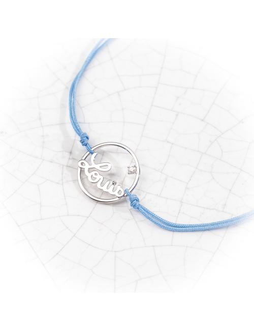 Prénoms personnalisés Bracelet cordon de 159€ à 189€